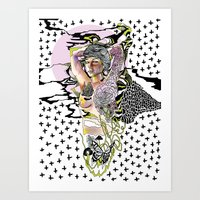 Sweetly Lavender Art Print