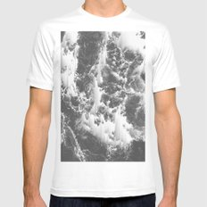 BAD GIRLS Mens Fitted Tee White SMALL