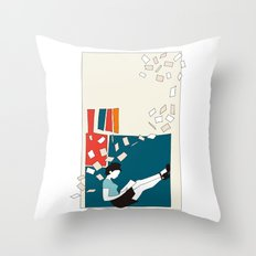 Papers Throw Pillow
