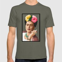 Frida Mens Fitted Tee Lieutenant SMALL