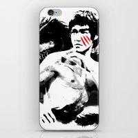Bruce - Enter The Dragon iPhone & iPod Skin