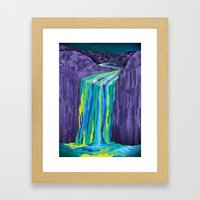 The Great Waterfall Framed Art Print
