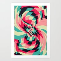 Swivel Vision (Available in the Society 6 Shop) Art Print