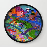 Local Flavor Wall Clock