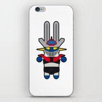 Sr. Trolo / Mazinger iPhone & iPod Skin