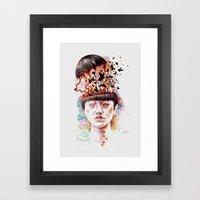 I Have Kept Them Safe Fo… Framed Art Print