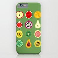 iPhone Cases featuring Banca de Frutas by Marcelo Romero