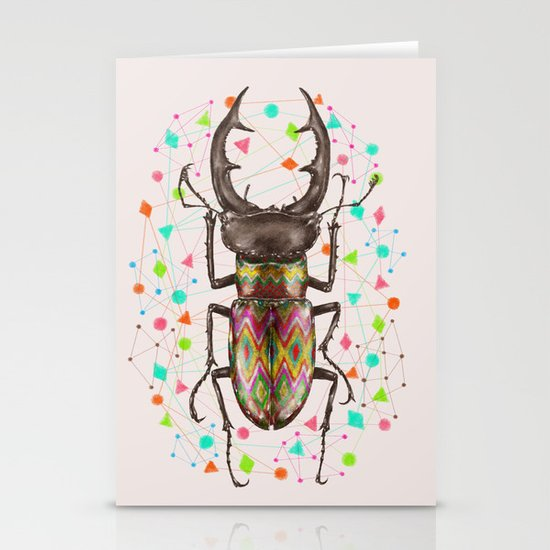 INSECT IV Stationery Card