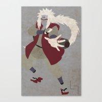 Jiraiya Canvas Print