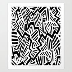 LEgging 05 Art Print