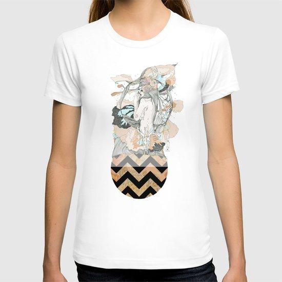 floral ego T-shirt