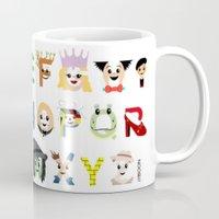 Oz-abet (an Oz Alphabet) Mug