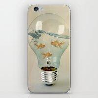 IDEAS AND GOLDFISH 03 iPhone & iPod Skin