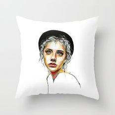 Out of the Shell Throw Pillow