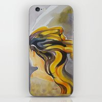 Blowin' In The Wind iPhone & iPod Skin