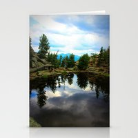 Gem Lake Stationery Cards