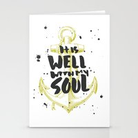 It is Well With My Soul Stationery Cards