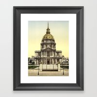 Les Invalides, Paris, Fr… Framed Art Print