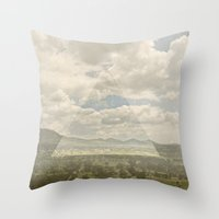 Teotihuacan Throw Pillow
