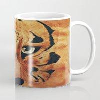 Tiger Watercolor Mug