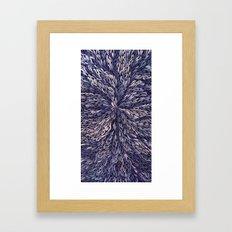 Blue Dreamcatcher Framed Art Print