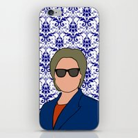 Hillary Clinton iPhone & iPod Skin