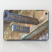 New Orleans Jazz Club iPad Case