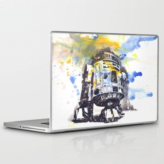 R2D2 from Star Wars Laptop & iPad Skin