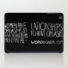 Orgasms iPad Case