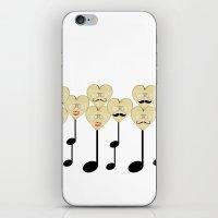 La familia musica iPhone & iPod Skin
