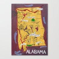Alabama Canvas Print