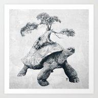 Tortoise Tree - Growth Art Print