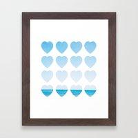 Love For The Sea Framed Art Print