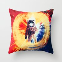 With Love From Space Throw Pillow