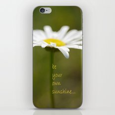 Be Your Own Sunshine iPhone & iPod Skin
