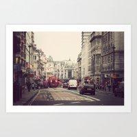 London Street Art Print