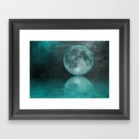 MOON FANTASY Framed Art Print