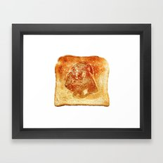 Darth Vader toast Framed Art Print