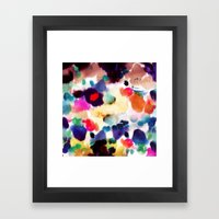 Ink Mix II Framed Art Print