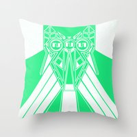 Power Wolf Lite Throw Pillow