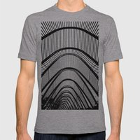 Contemporary Agora Mens Fitted Tee Athletic Grey SMALL