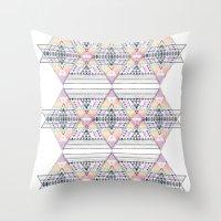 Aztec 2 Throw Pillow