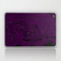 black and purple swirls  Laptop & iPad Skin