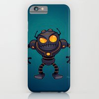 iPhone & iPod Case featuring Angry Robot by John Schwegel