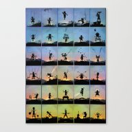 Canvas Print featuring Superhero Kids by Andy Fairhurst Art