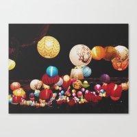 Colour pops Canvas Print