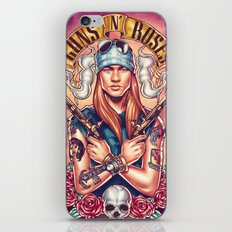 Welcome To The GnR iPhone & iPod Skin