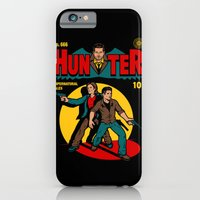 iPhone Cases featuring Hunter Comic by harebrained
