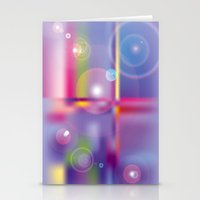 Frosted Glass  Stationery Cards