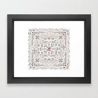 Ornament Framed Art Print